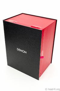 Denon AH-D7100 Artisan box (pre-production sample).