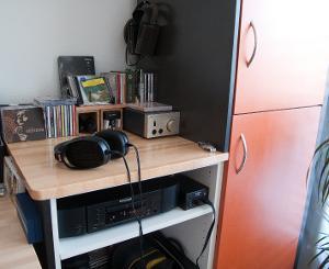 The main headphone station. Marantz CD-6004 >  Koss E90 > Koss ESP-950 -or- Stax SRM313 >...