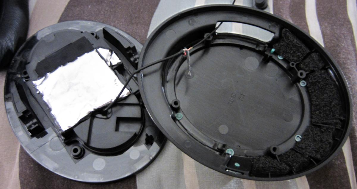 HD448 tweaks: Dynamat Xtreme (dense black acoustic putty with aluminum lining) + Akasa Paxmate...