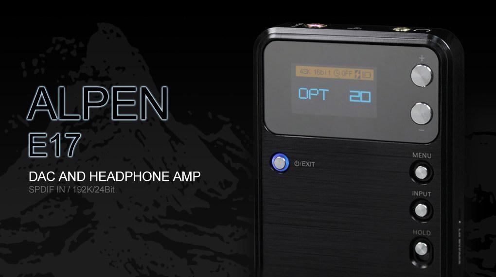 Fiio E17 Portable Amp/DAC