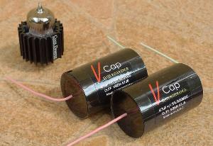 V-Cap CuTF Capacitors (600 VDC, 0,47uF) & Bendix 6385 tube