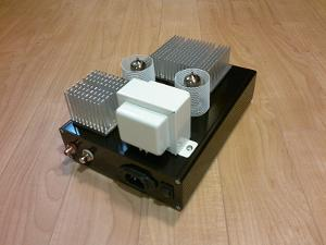 """My Millett """"Starving Student"""" Hybrid headphone amplifier. The whole circuit was built using..."""