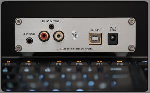 Yulong U100 (back) + Logitech Illuminated Keyboard