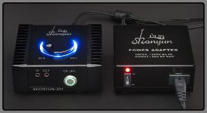 Shonyun SH-301 amp + power supply (front)