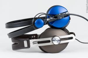 For a size comparison, here's the Sennheiser MOMENTUM with the Sennheiser Amperior (the Amperior...