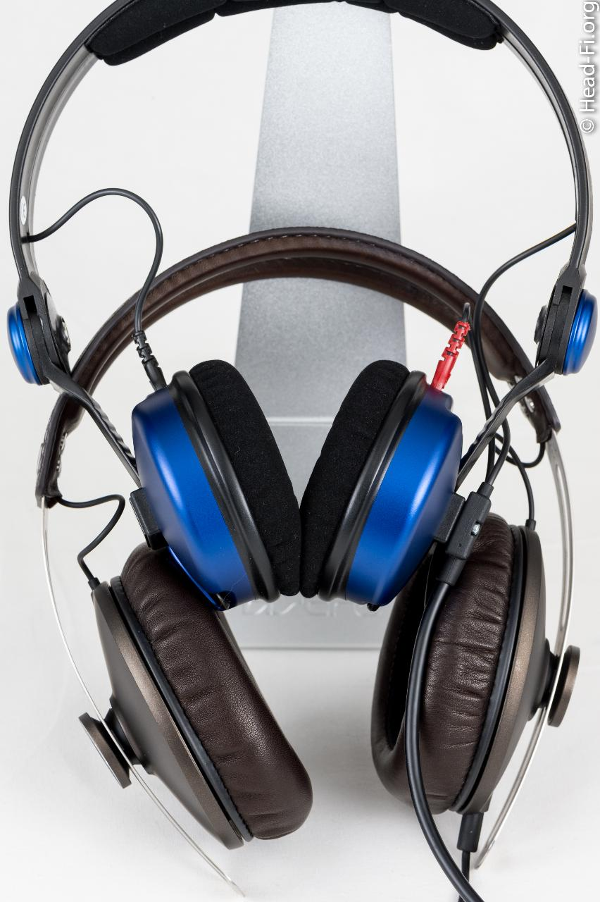For a size comparison, here's the Sennheiser MOMENTUM with the Sennheiser Amperior (the...