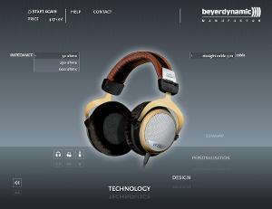 Select impedances 32 / 250 / 600 ohm