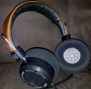 Alessandro MS-1i w/ custom leather headband from headphonelounge.com (saddle/onyx w/ contrasting...