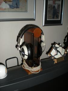 Stax SR5 with anniversary Stax Stand