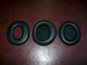 Stock T50rp pads | Denon J$ pads | Shure SRH840 pads