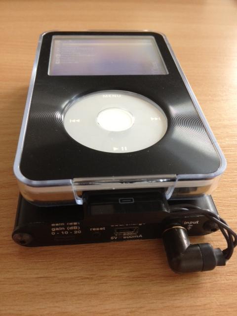 TTVJ Slim & iPod