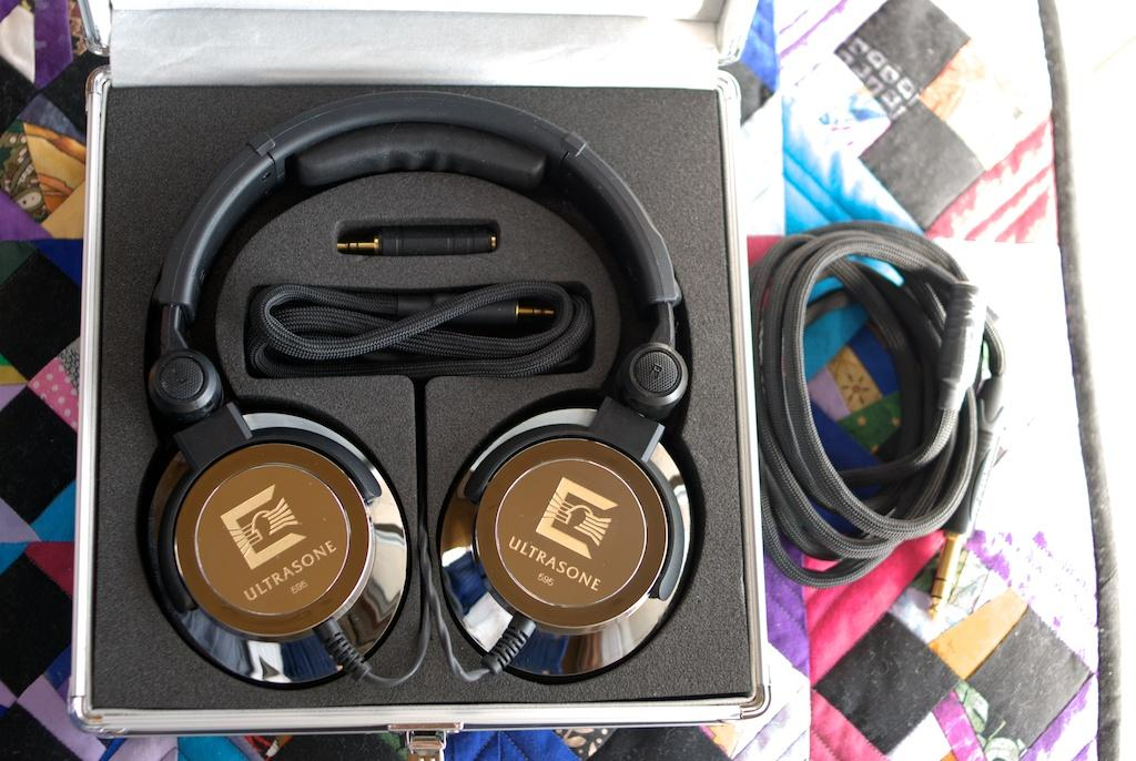 A pair of Ultrasone Edition 9s I owned at one time that have been re-cabled.