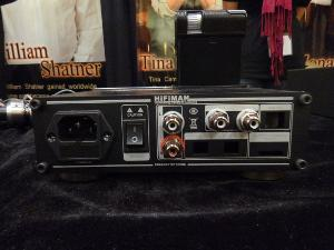 CanJam @ RMAF 2012 - HiFiMan HM-901 dock - rear view of prototype - will have USB input and...