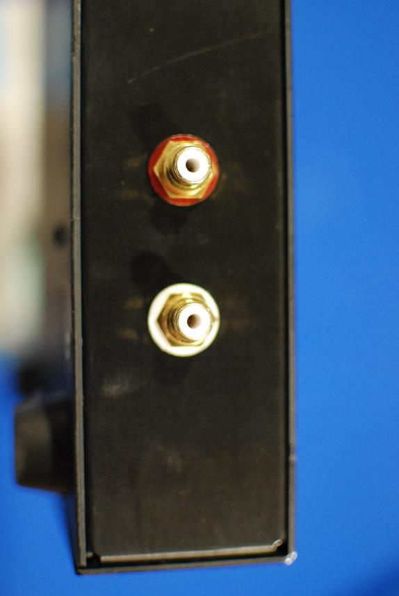 RCA inputs