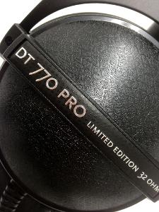 beyerdynamic DT770PRO 88th anniversary Limited Edition Limited Edition name plate. the...