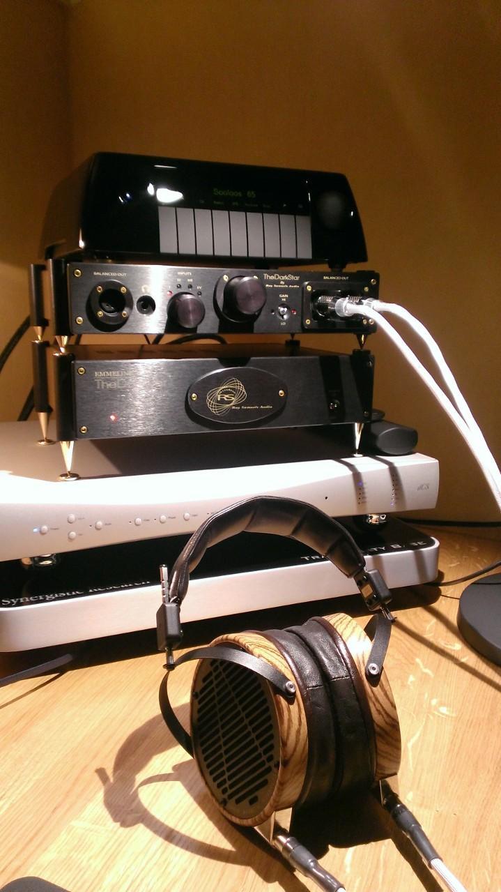 Christoffer Braathen - My Headphone Rig<br /> <br /> dCS Debussy - DAC<br /> Ray Samuels...