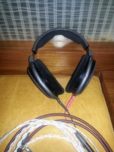 HD650 with w/SXC 22 Larait cable (alo) and Silver Dragon v2 (attached) (MoonAudio, DIY,...