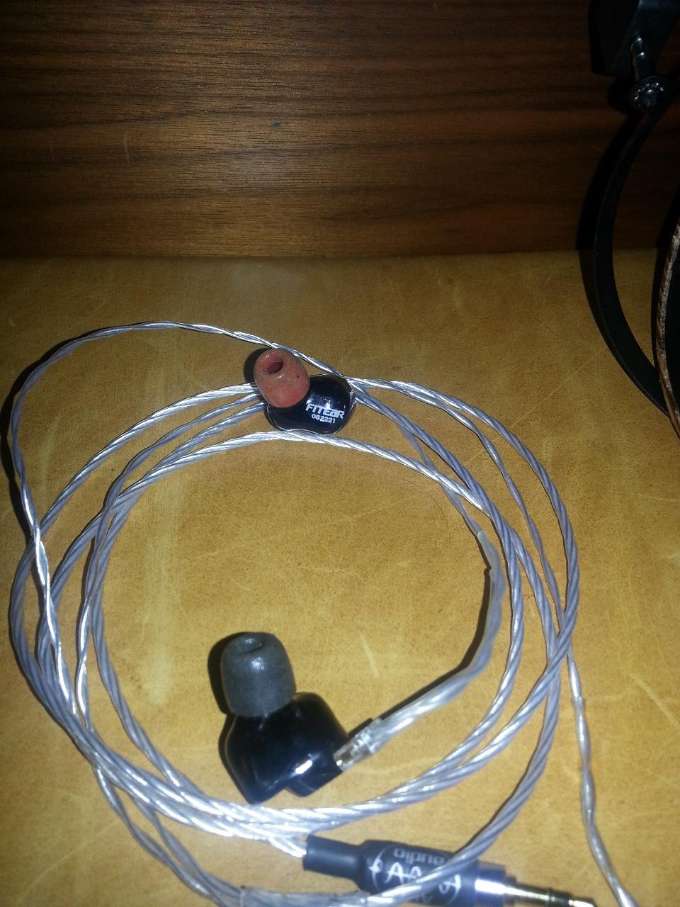 FitEar ToGO 334 w/ALO SXC 24 IEM Cable