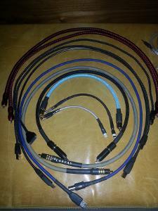 "various Cables including: Audio Quest ""Carbon"" USB Audio Quest ""Carbon"" iPod -> USB  Moon..."