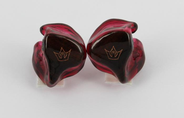 Heir Audio 4.A w/cocobolo face plates and Heir Audio crowns.