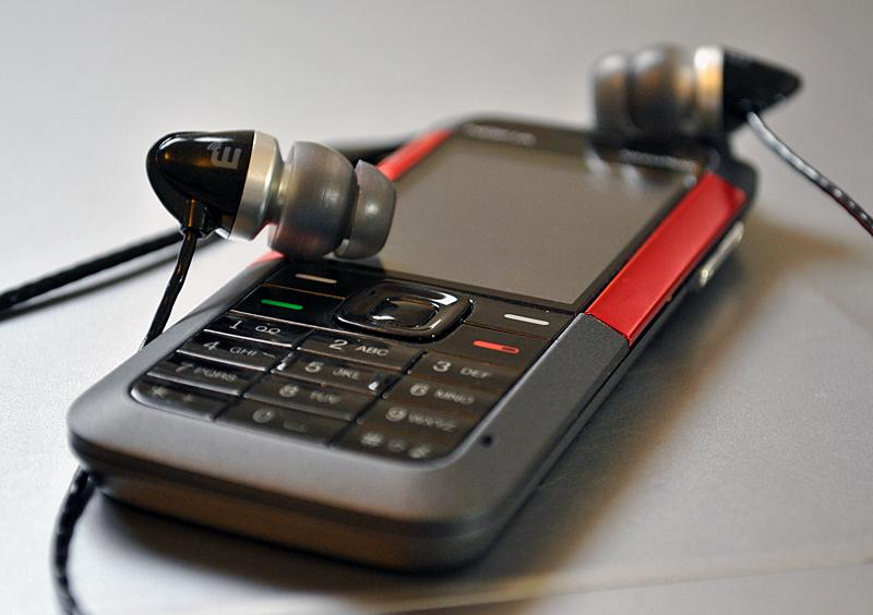 Brainwavz M1 with Nokia 5310