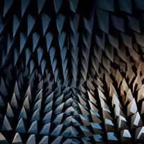 Anechoic chamber cones
