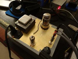 Bottlehead crack with temperature probe attached.