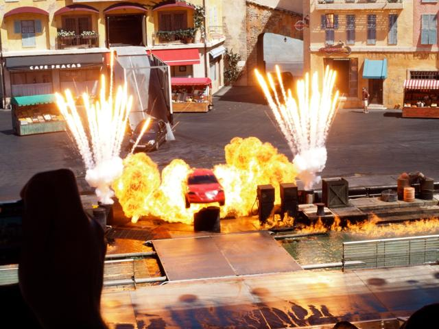 KABOOM! From Hollywood Studio's live stunt show