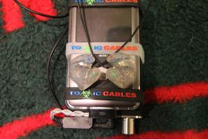 ACS Custom T1 In Ear Monitors, iPod Classic 7G, Toxic Cables Silver Poison LOD, Fostex HP-P1...