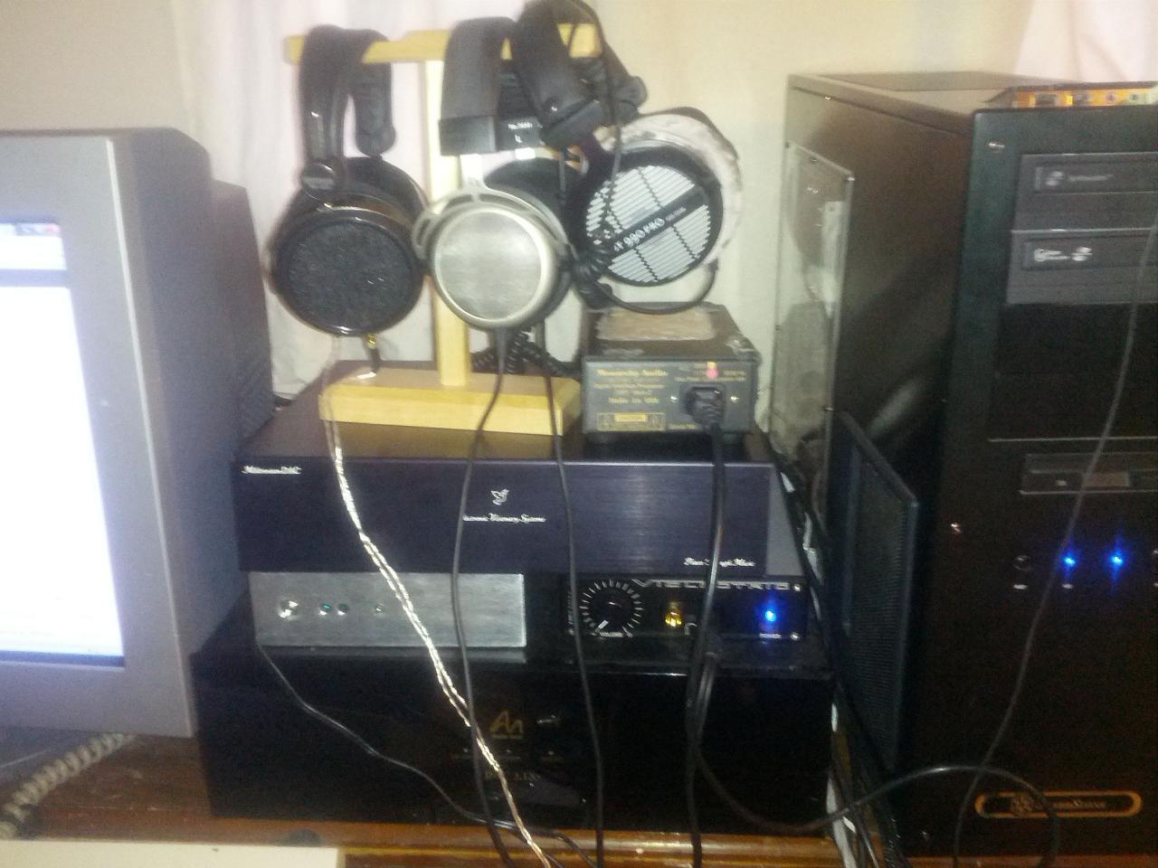 HE500/T1/DT990<br /> Monarchy DIP<br /> EVS Millennium II DAC<br /> Ack DAC/V200<br /> Audio...
