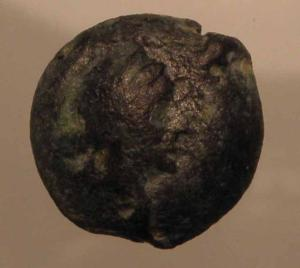Cleopatra VII 11mm bronze from Cyprus