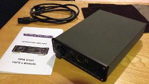 Violectric V181 bought from a member in Canada.  Opened and changed to 230V myself.  Thanks to...