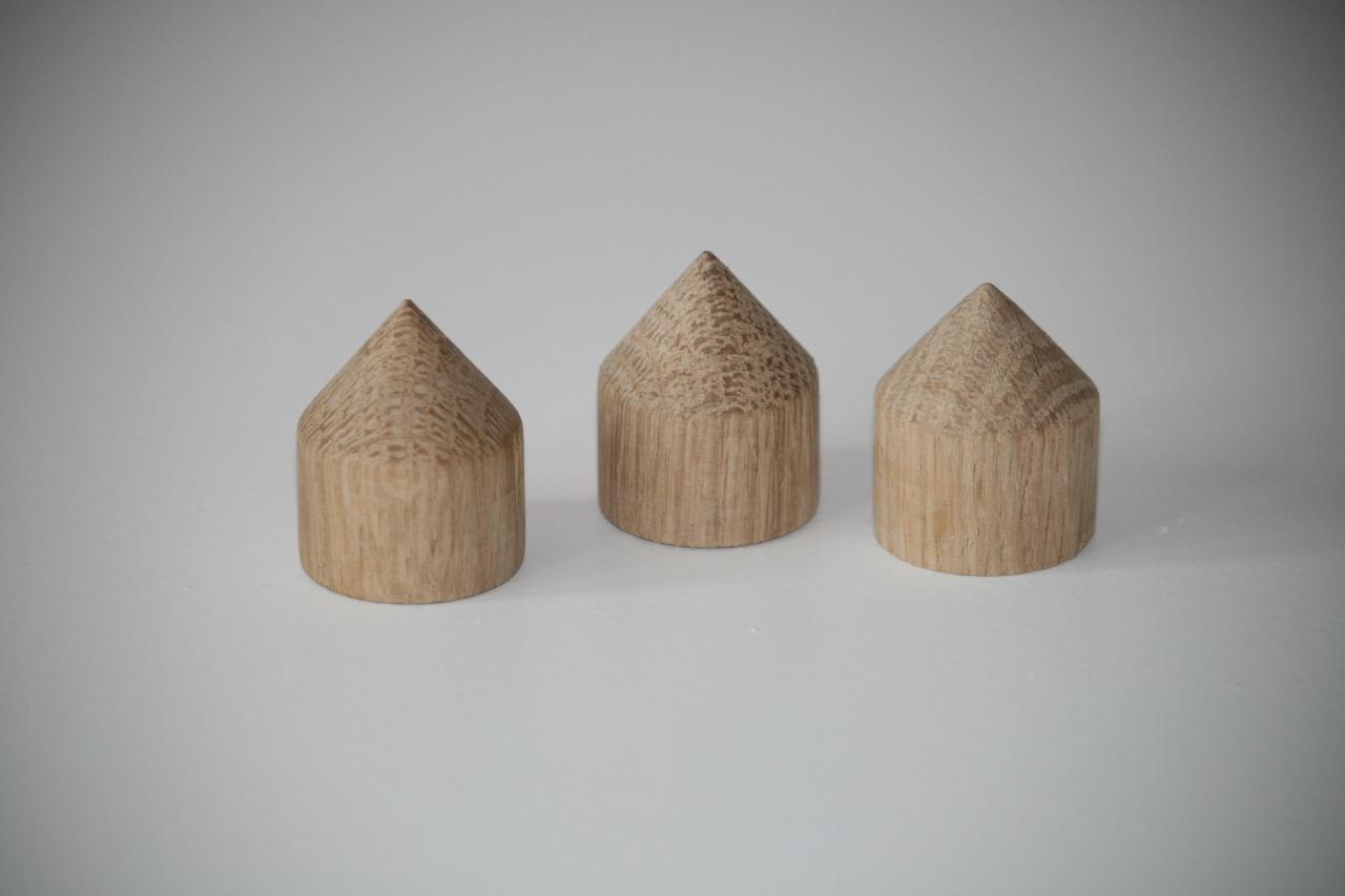 oak cones from www.oscarsaudio.co.uk