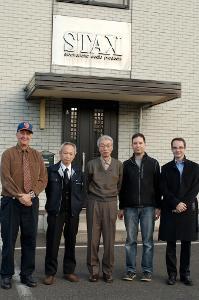 Scott M Rivkin, Sales Director Kiyoshi Sasaki, President Yozo Meguro, Amos Barnett, Arnaud...