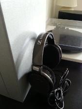 Sennheiser HD650 Side View