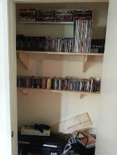 Media Closet Unfinished: SACDs DVD-As DualDisc CDs Special Edition CDs Regualar CDs Vinyl...