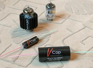 V-Cap CuTF Copper Foil and Fluoropolymer Film Audio Capacitors