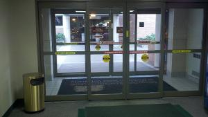 Lower Entrance from parking structure