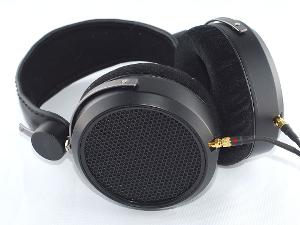 Another view of the matte finish HE-5LE headphones.