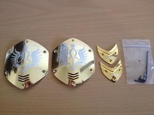 V-MODA M-100 Gold Shields