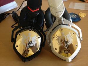 M-100 Gold Shields Shadow White