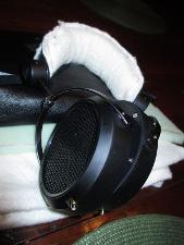 Whoa!  What kind of finish is on those HifiMAN headphone cups?  It is actually one of the...