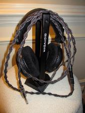 HifiMAN HE-5LE Headphones with the Norse Skuld Cable Upgrade.