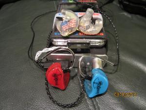 JH16's and ACS Custom T1's with an iPod Classic 7G with Lossless AIFF files via a Toxic Cables...