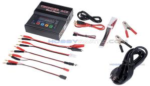 Charger for LiPo batteries used with Stepdance portable rig