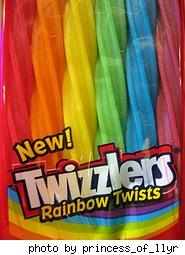 Rainbow Twists Twizzlers!
