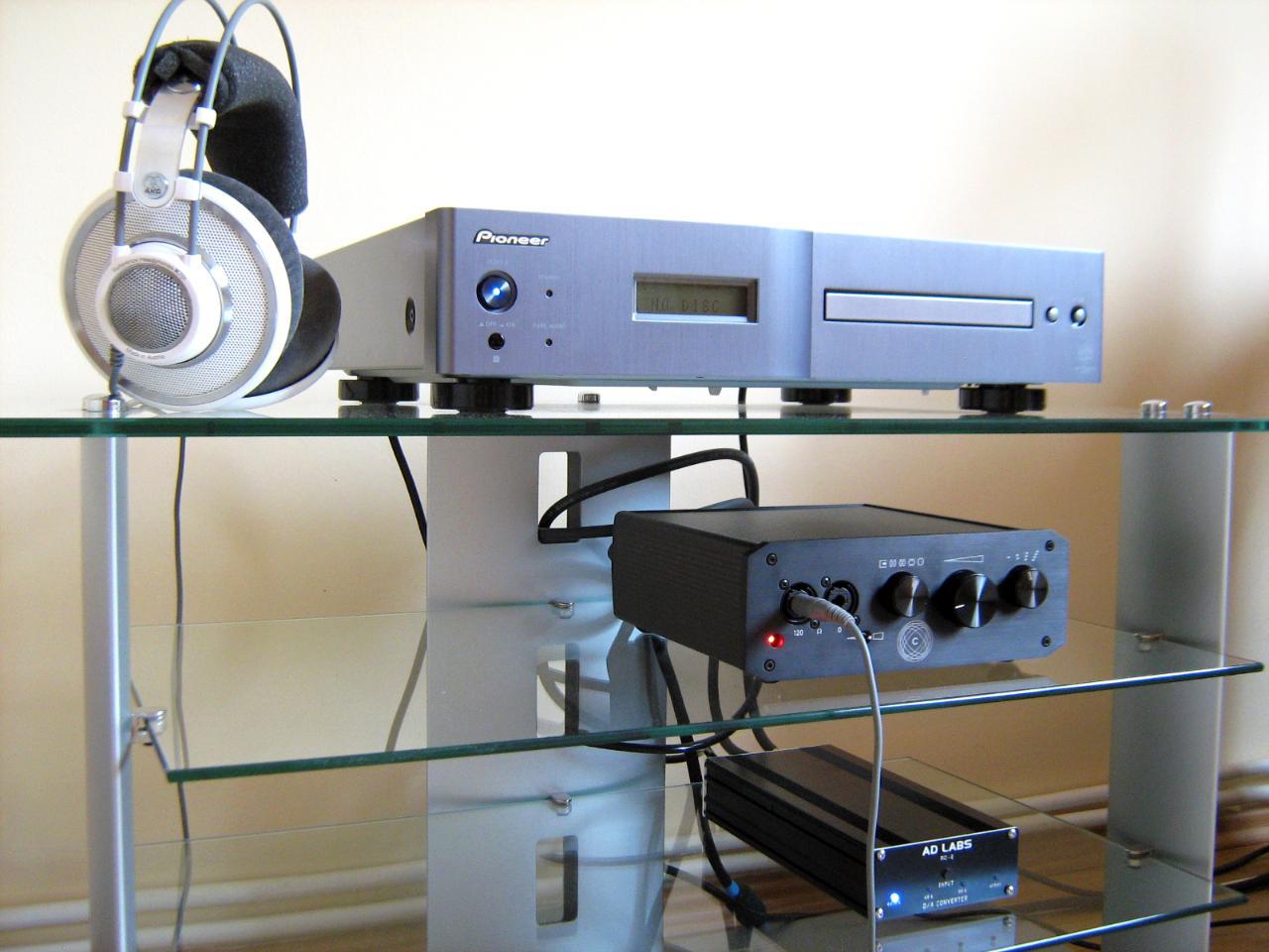 AKG K701 & PREHEAD-I setup