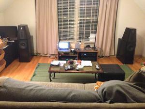 Media room: OPPO BDP-105, Wyred4Sound STI-1000, Philharmonic Audio 3