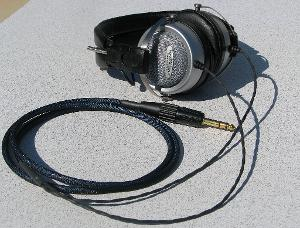 Audio-Technica AT-707 with Custom Cardas Headphone Cable - Modified by Moon Audio