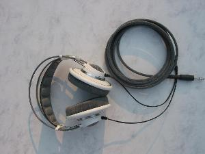 AKG 701 with Moon Audio Black Dragon V2 Headphone Cable